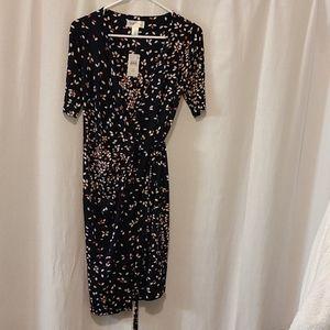 NWT Motherhood Maternity wrap dress size S